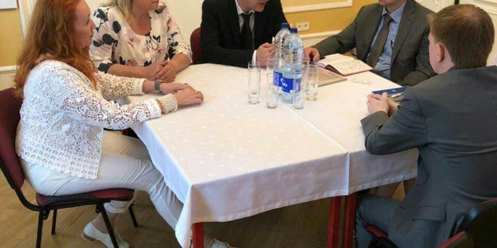 Встреча в Генеральном консульстве РФ в Страсбурге