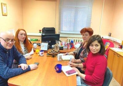 """Working meeting with the General information partner of the Media holding """"Pravda.ru"""""""