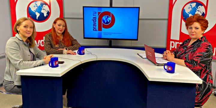 Гость программы «Женщина третьего тысячелетия»-Русецкая Маргарита Николаевна