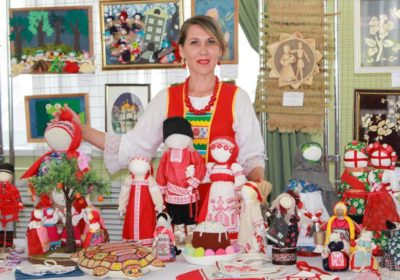 """""""Slavic style"""" at the International Festival of Folk Art and Crafts """"By hands of a woman"""""""